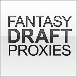 Fantasy Draft Proxies Web Site