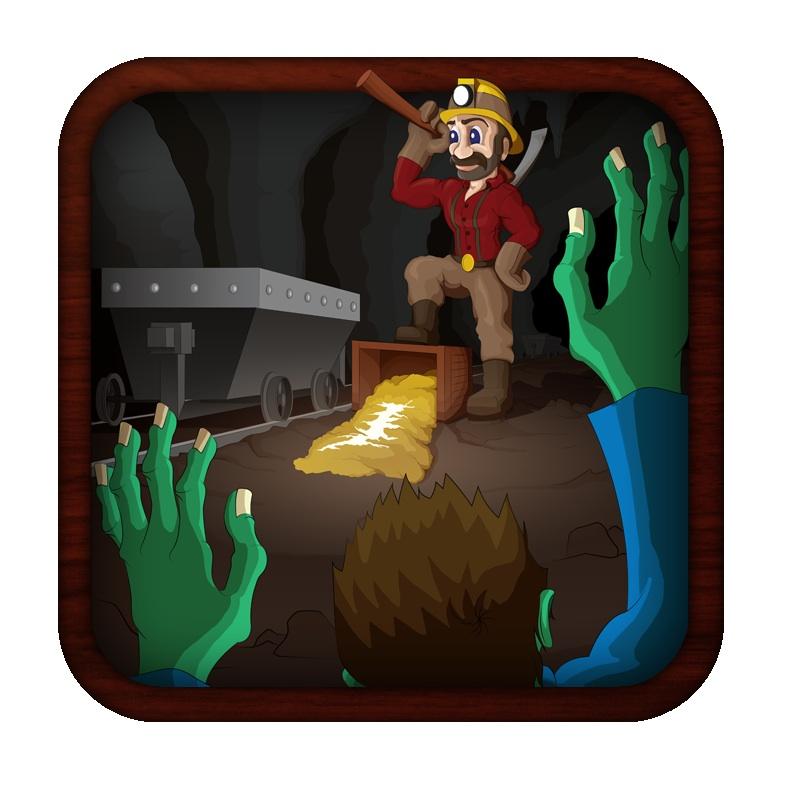 Zombie Gold Rush Miner